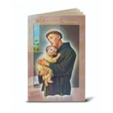 Book, Saint Anthony Novena and Prayers