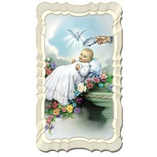 Baptism Holy Card, Set of 50