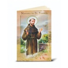 Book, Saint Francis Novena and Prayers