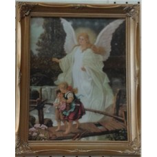 Picture, Guardian Angel with Children