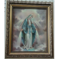 Picture, Our Lady of Grace, framed