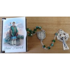 Rosary, Saint Patrick Rosary Box and Rosary