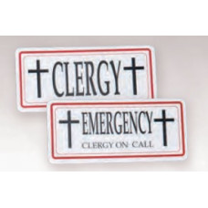 Clergy / Emergency Sign