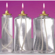 Candle Oil, 170 Hour Disposable Container for Candle Shells, 12 per case