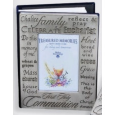 Frame, Communion Pewter Frame-Cover Photo Album