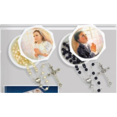 Communion Rosary & Keepsake Box