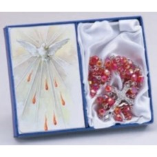 Rosary, Confirmation Rosary and Holy Spirit Prayer Card