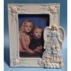 Frame, Porcelain Guardian Angel
