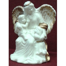 Statue, Guardian Angel with Children