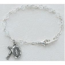 Bracelet, Swarovski Baby Crystal Rosary Bracelet,
