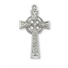 Cross, Celtic Cross in Sterling Silver