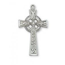 Cross, Celtic Cross in Sterling Silver