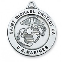 U.S. MILITARY Saint Michael Medals with Chain