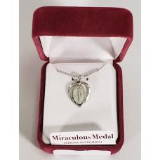 Miraculous Medal in Heart