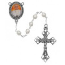 Rosary,  Pope Francis, pearl