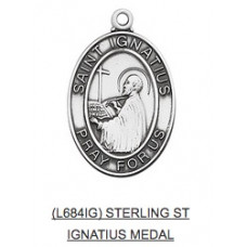 Saint Ignatius Medal with Chain
