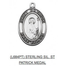Saint Patrick Medal with Chain