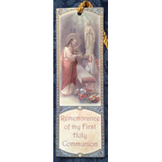 Bookmark, First Holy Communion, Girl