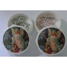 Rosary, Guardian Angel Rosary Case & Rosary