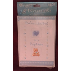 Invitations, You're, Invited to a Baptism, set of 8