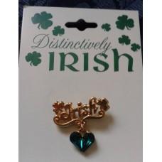 Pin, Irish Heart