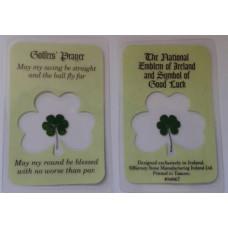 Laminated Card, Irish Golfers' Prayer