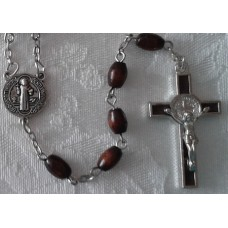 Rosary, Benedictine Cross Our Father beads