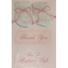 Thank you, For the Baptism Gift, Girl set of 8