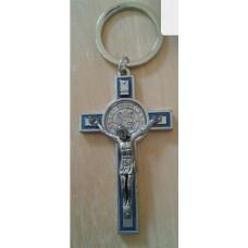 Crucifix, Benedictine Key Chain