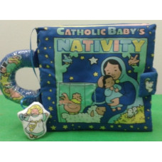 Book, Soft Catholic Baby's Nativity
