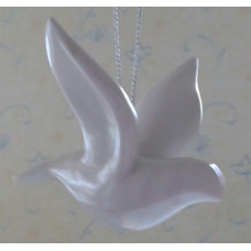 Ornament, Friendship Doves, set of 2