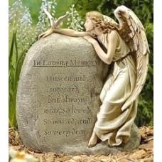 Statue, Memory Garden Angel