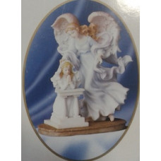 Statue, Communion Girl & Guardian Angel.