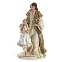Statue, Jesus with Communion Girl