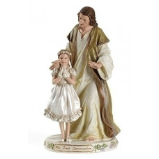 Statue, Jesus with Communion Girl