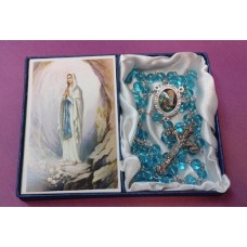 Rosary, Our Lady of Lourdes Rosary and Prayer Card