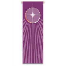 Church Banner, Advent Star