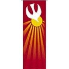 Church Banner, Holy Spirit, Dove