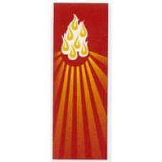 Church Banner, Holy Spirit, 7 Flames