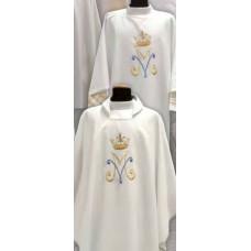 Deacon Dalmatic Marian Symbol