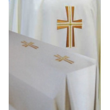 Funeral Pall, Embroidered Cross 6' x 10'
