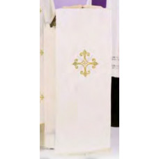 Lectern Hanging, Embroidered Filigree Cross #351