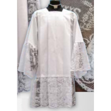 Surplice,  with Cross Lace #55