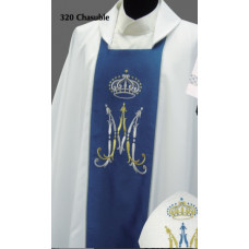 Vestment, Chasuble Marian #320