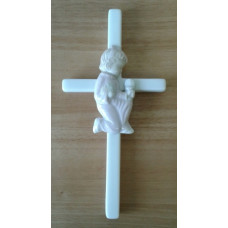 Cross, Porcelain First Communion Girl