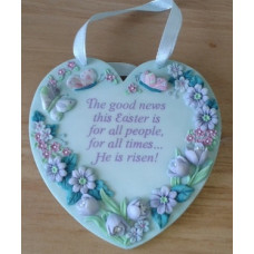 Plaque, Easter