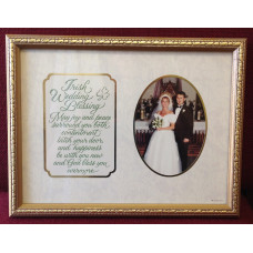 Frame, Irish Wedding Blessing