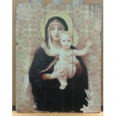 Picture, Religious Depiction of Madonna & Child #2