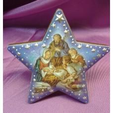 Nativity Scene Standing Star