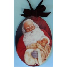 Ornament, Santa with Infant Jesus